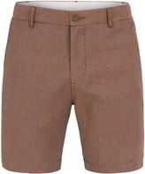 Oxford Henry Jacquard Shorts Tabacco X