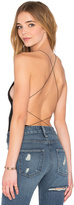 Alexander Wang Criss Cross Back Bodysuit