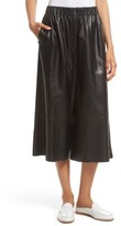 Robert Rodriguez Women's Leather Gaucho Pants
