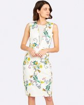 Oxford Jazabelle Linen Floral Dress