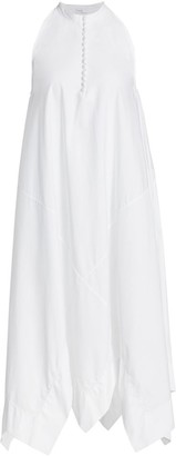 Rosetta Getty Sleeveless Bias Handkerchief Dress