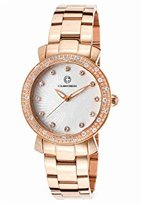 Cabochon Women's 16604-RG-22 Carmel Analog Display Quartz Rose Gold Watch