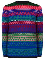 Mcq Alexander Mcqueen Bright Print Sweater