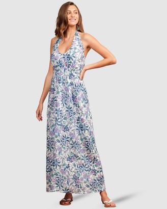 SACHA DRAKE - Women's Blue Dresses - Dunk Island Dress - Size One Size, 10 at The Iconic