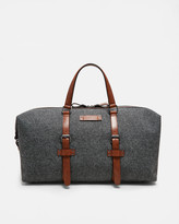 Wool-blend holdall