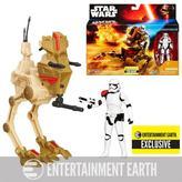 Hasbro Star Wars Desert Assault Walker with Stormtrooper Action Figure