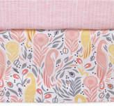 DwellStudio Boheme 100% Cotton Percale Graphic-Print Crib Skirt Bedding