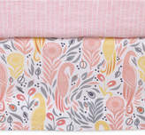 DwellStudio Boheme Cotton Percale Graphic-Print Crib Skirt Bedding
