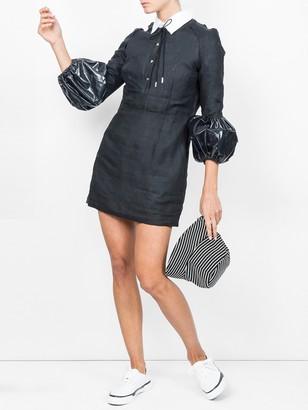 J.W.Anderson Puff Sleeve Mini Dress Black