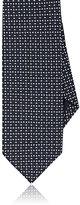 Drakes Drake's Men's Basket-Weave Silk Necktie