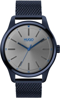 HUGO BOSS Dare Mesh Strap Watch, 42mm
