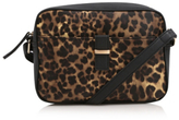 George Animal Print Cross Body Bag
