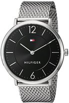 Tommy Hilfiger Men's 'Sophisticated Sport' Quartz Stainless Steel Automatic Watch, Color:Silver-Toned (Model: 1710355)