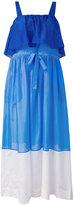 Diane von Furstenberg panel maxi dress - women - Cotton/Silk - M