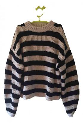 LES COYOTES DE PARIS Beige Cotton Knitwear