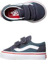 Vans Tots Old Skool V Shoe Blue