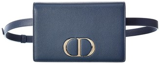 Christian Dior 30 Montaigne 2-In-1 Leather Belt Bag