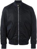 Paul Smith Men's Prxd929p073n Blue Polyamide Outerwear Jacket