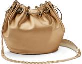 Diane von Furstenberg Love Power Satin Bucket Bag