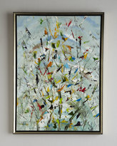"John-Richard Collection The Confetti Garden"" Original Oil Painting"