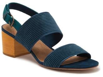 Toms Poppy Corduroy Block Heel Sandal