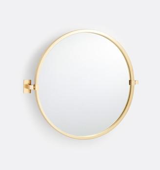Rejuvenation Yaquina Round Pivot Mirror