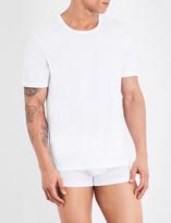 BOSS Pack of three crewneck cotton-jersey T-shirts
