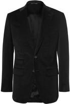 Thom Sweeney Black Scabal Slim-Fit Cotton-Corduroy Blazer