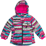 Big Chill Pink Abstract Board Jacket - Girls