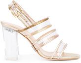 Ritch Erani NYFC strappy sandals - women - Leather/Acrylic - 35
