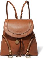 See by Chloe Olga Textured-leather Backpack - Tan
