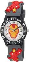 Marvel Boy's 'Iron Man' Quartz Plastic Casual Watch