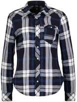 G Star GStar TACOMA 1 PKT STRAIGHT SHIRT L/S Shirt indigo/milk