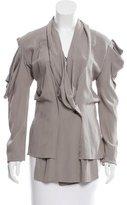 Vivienne Westwood Cutout Wrap Blouse w/ Tags