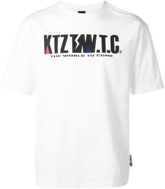 Kokon To Zai mountain letter T-shirt