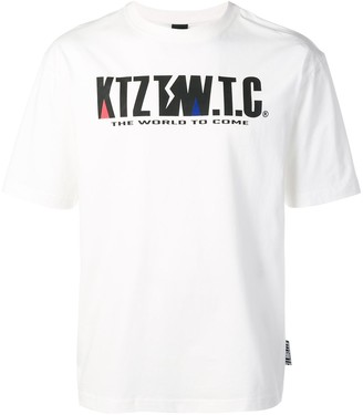 Kokon To Zai mountain letter T-shirt