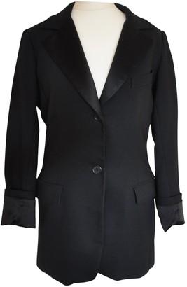 Smythe Black Silk Jacket for Women