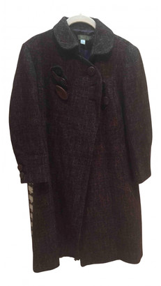 Hoss Intropia Brown Wool Coats