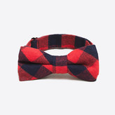 J.Crew Factory Boys' flannel bow tie