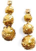 J.Crew Women's Sequin Ball Drop Earrings