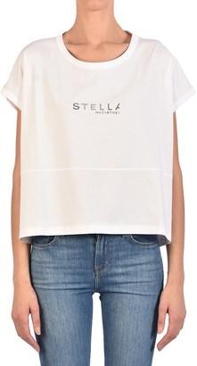Stella McCartney Logo Cropped T-Shirt
