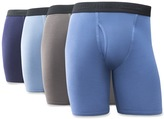 Fruit of the Loom Men's Signature 4-pack Breathable Long-Leg Boxer Briefs