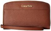 Calvin Klein Saffiano Wallet w/ Strap