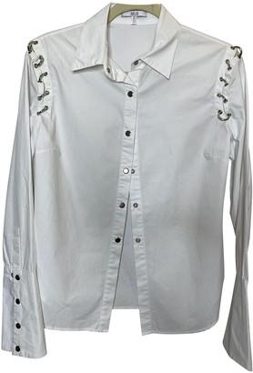Asilio White Cotton Top for Women
