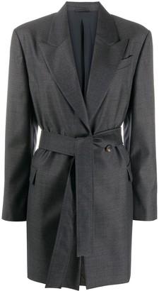 Brunello Cucinelli Tailored Tie-Waist Blazer