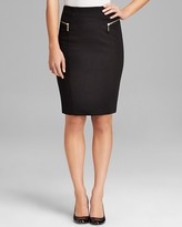 MICHAEL Michael Kors Zip Pencil Skirt