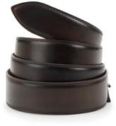 Corthay Ebene Patina Leather Belt