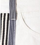 See by Chloe Striped denim skirt