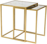 ZUO Calais Mirrored Nesting Tables