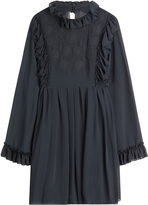 See by Chloe Embroidered Dress with Ruffles